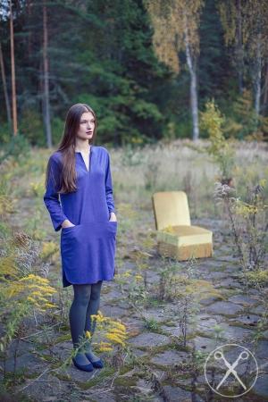 ROYAL BLUE COLOR DRESS