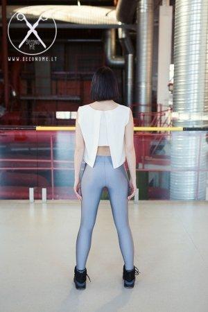 Glitter silver leggings | Second ME | www.secondme.eu