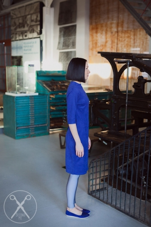Vivid royal blue purple tight dress | SS16| Second ME | www.secondme.eu