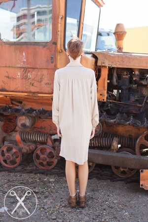 Retro Round Collar Buttoned Dress| SS16| Second ME | www.secondme.eu