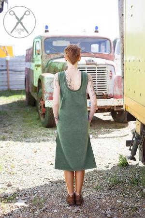 Pastel Green Straight Velour Sleeveless Dress| SS16| Second ME | www.secondme.eu